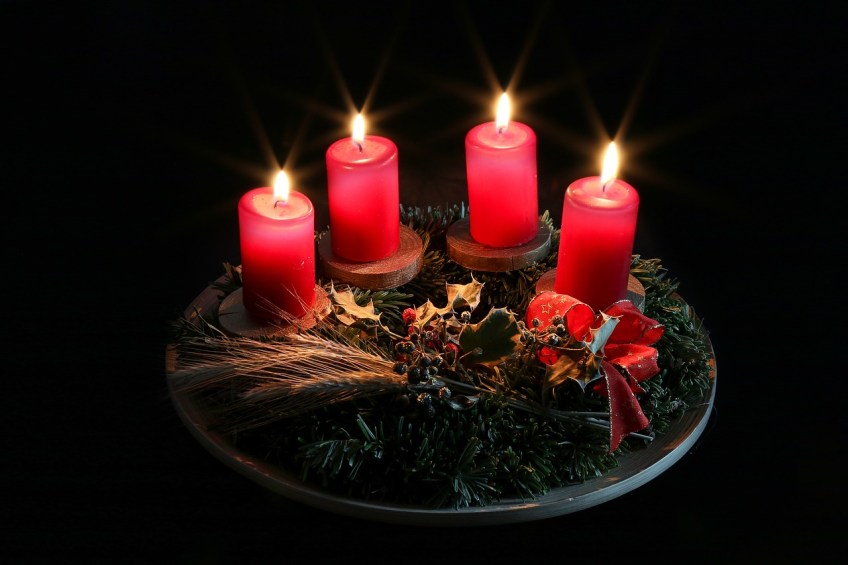 christmas in germany, advent wreath