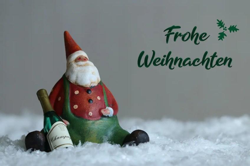 Frohe Weihnacthen