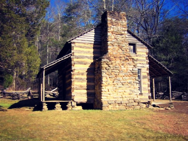John Oliver Cabin c. 1822 in Cades Cove in the Great Smoky Mountains National Park on the Cades Cove Loop Road. Photo by Brian Stansberry