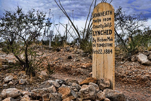 Visiting the Eery Boothill Graveyard