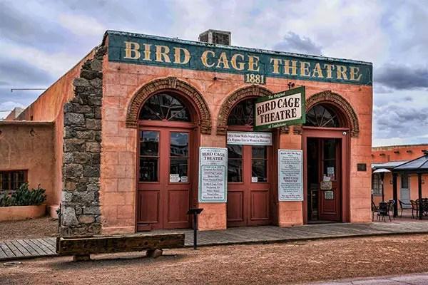 bird cage theater, tombstone, virgil's corner