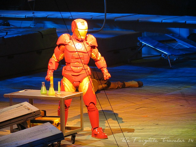 A flawless Iron Man costume. This was our favorite costume of all.