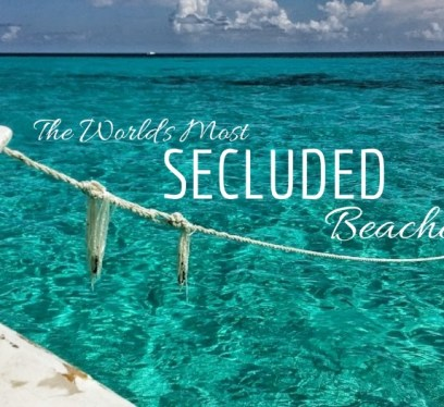 most secluded beaches