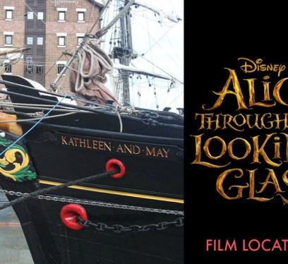 Alice in Wonderland 2, Alice through the looking glass, film locations