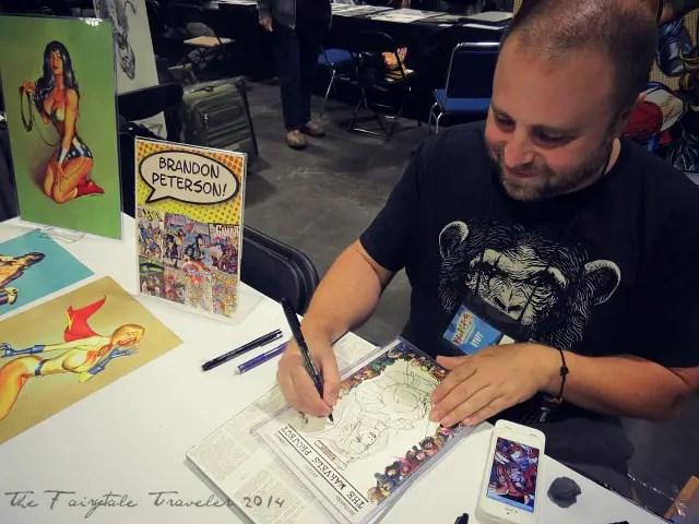 Brandon Peterson Tampa Bay Comic Con 2014