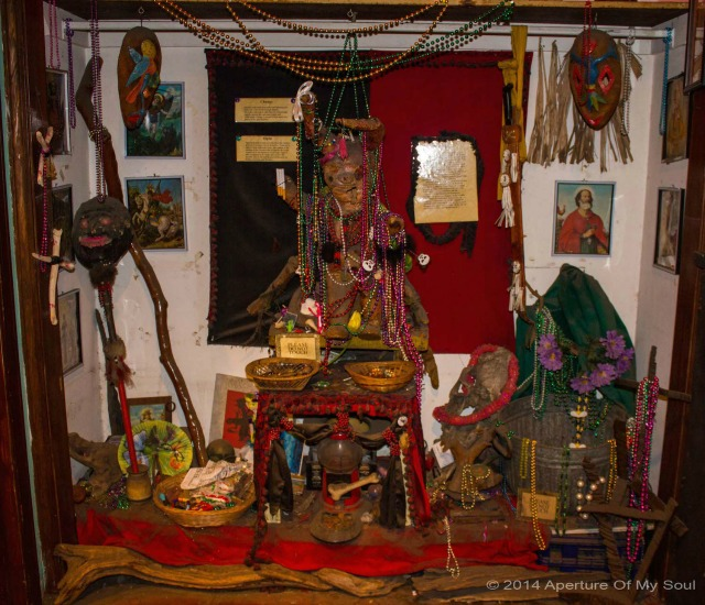 New Orleans Voodoo shrine 8
