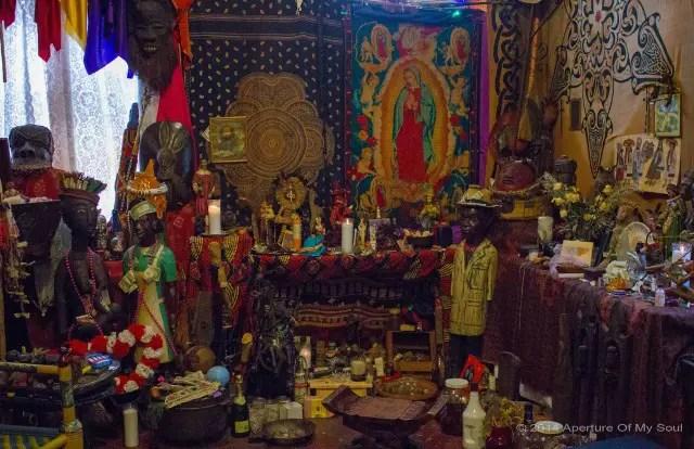 Voodoo alter in New Orleans