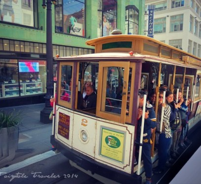 Union Square Cable Car .San Francisco 2
