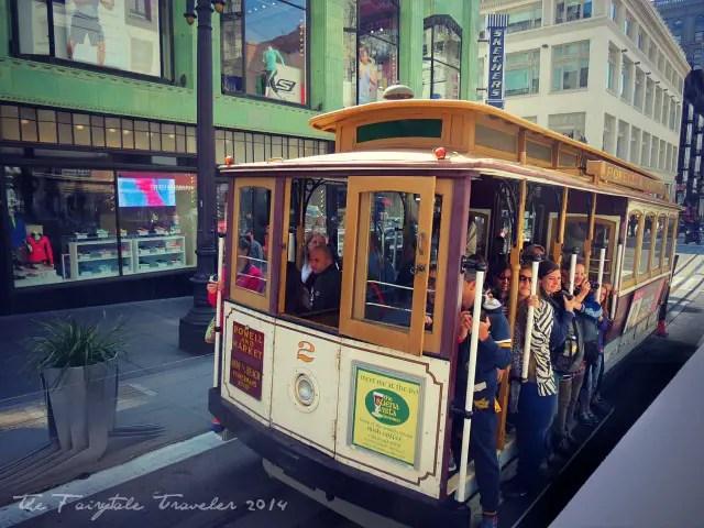 Union Square Cable Car .San Francisco 2