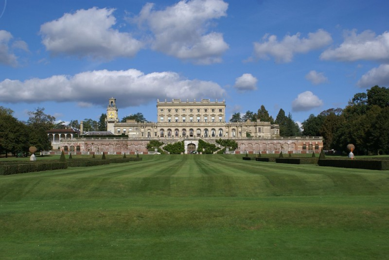 The Cliveden House with its clock tower to the left. Photo by Bill Andersen under the Creative Commons License.