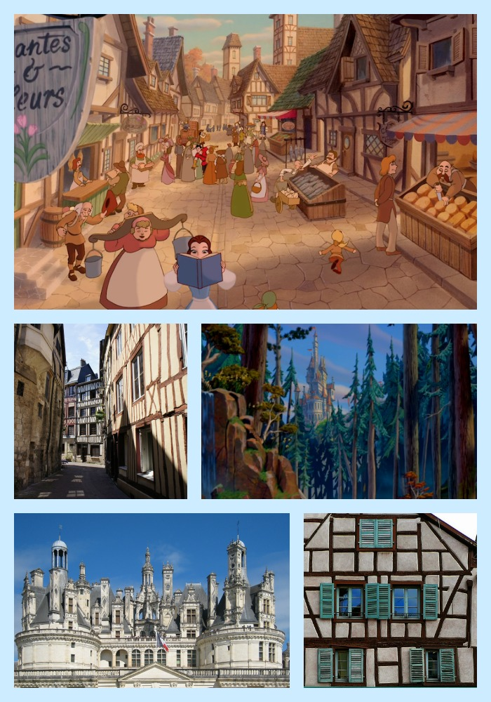 Places from fairy tales