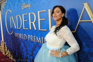 Christa Thompson Cinderella Premiere