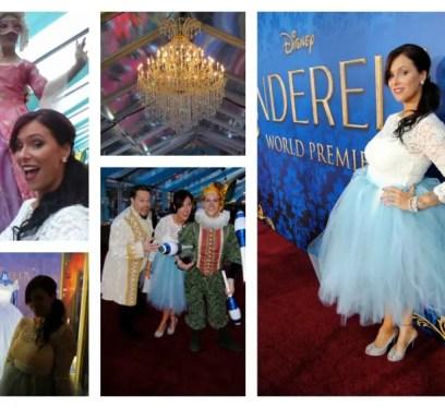Christa Thompson Cinderella Premiere