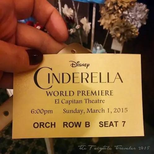 Cinderella World Premiere