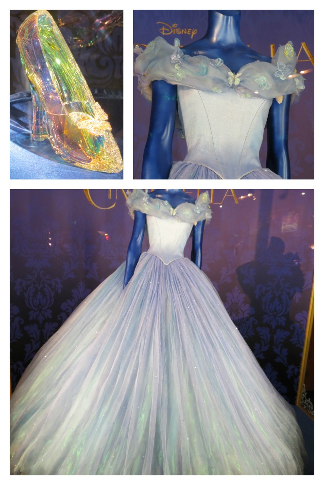 Cinderella the Dress and glass Slipper