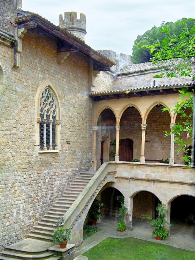 spain, game of thrones locations, Pati de Santa Florentina