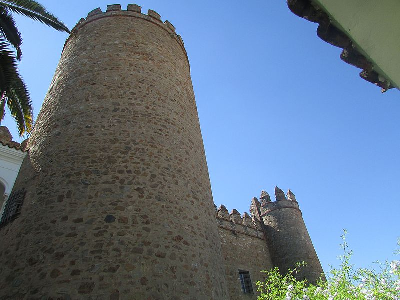 Game of thrones, locations, film locations, castle of zafra