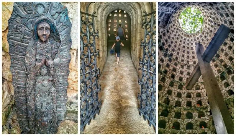 xcaret park hidden crypts