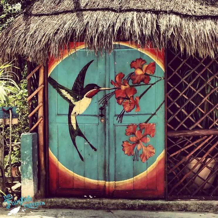 Street art Isla Holbox