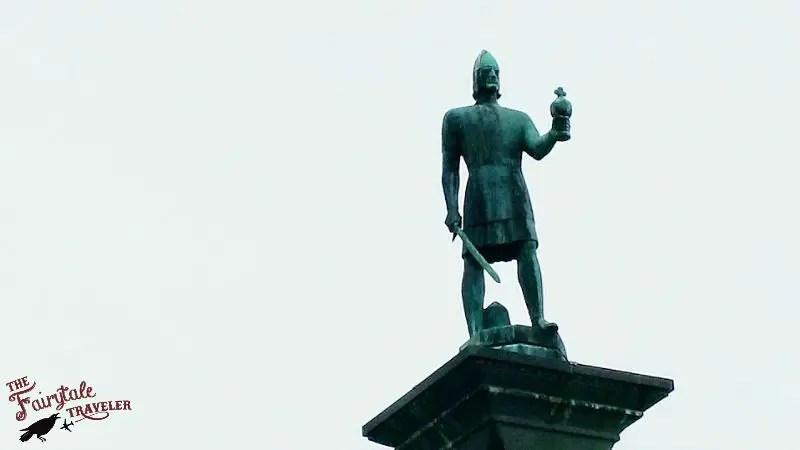 St Olaf Statue Trondheim