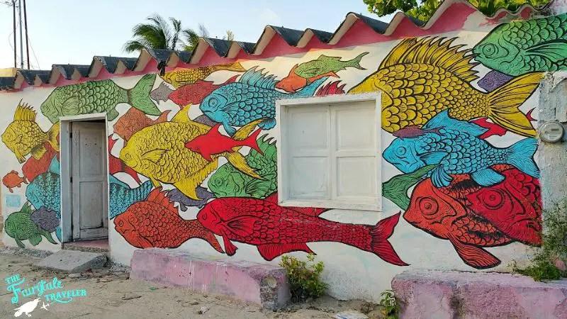Street Art on Isla Holbox x