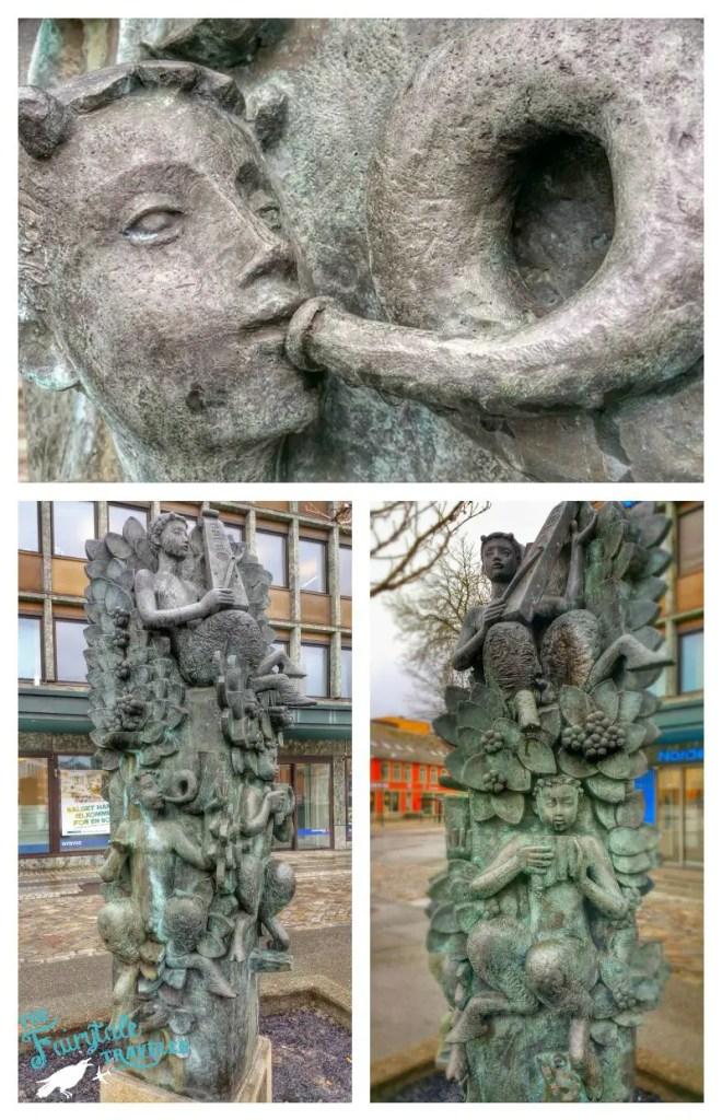 fountain in Trondheim