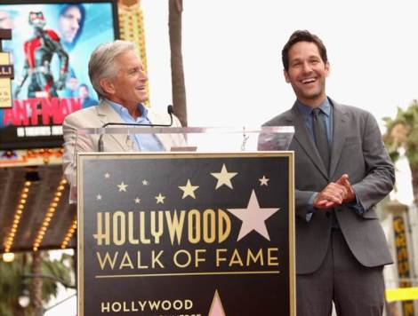 Paul Rudd Hollywood Walk of Fame