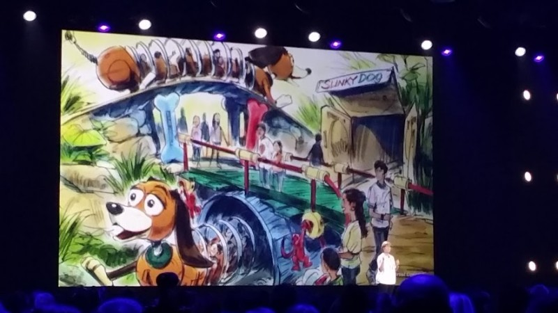 Concept art for new Toy Story Land