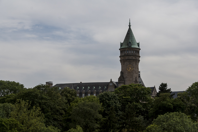 Even the Luxembourg Central Bank looks like a castle!