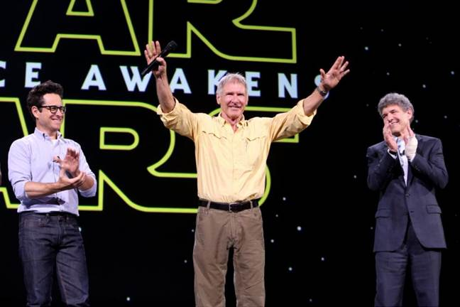 Harrison Ford for Star Wars The force Awakens