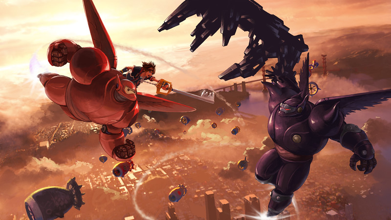 Kingdom Hearts Big hero 6