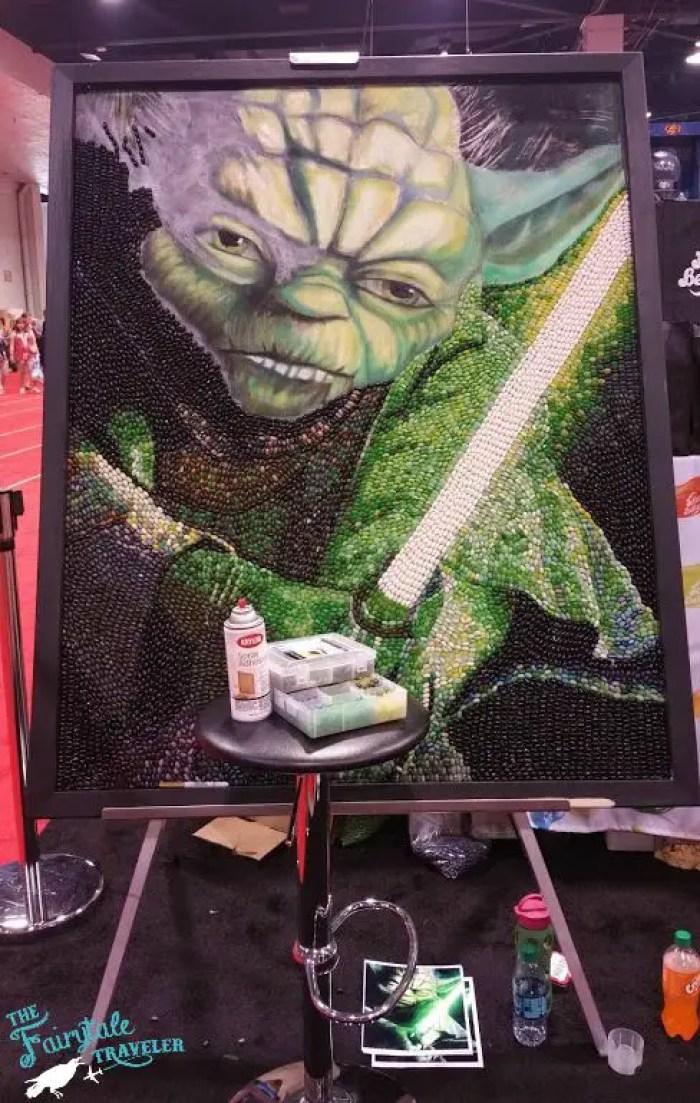Jelly Belly Yoda
