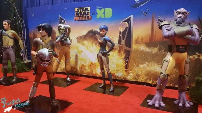 Star Wars Rebels at D23 EXPO