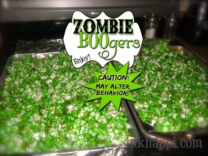 Halloween Recipes Zombie Boogers