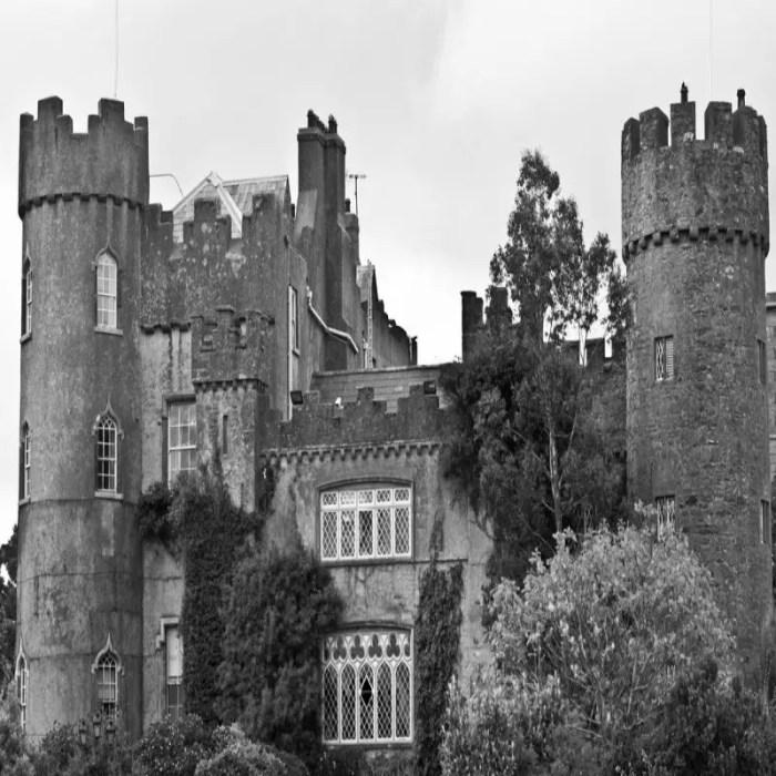 Malahide Castle haunted castles in ireland