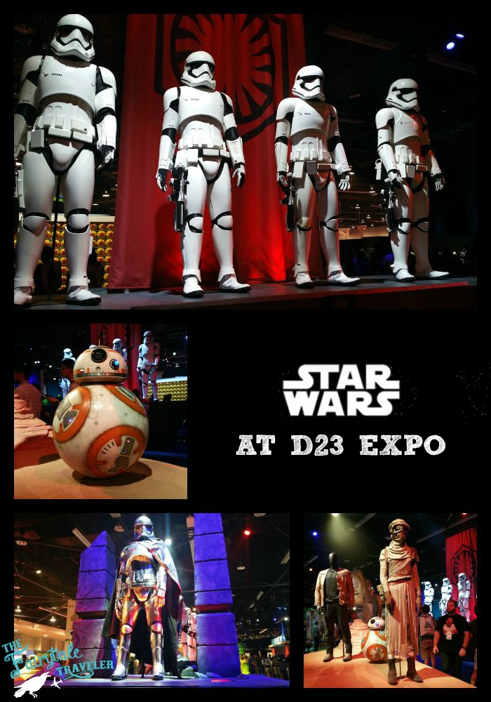 Star Wars The Force Awakens Costumes d23 EXPO