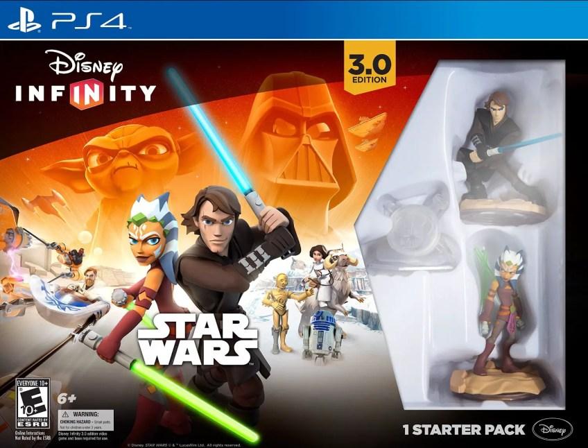 Disney Infinity 3.0 Twilight of the Republic starter pack