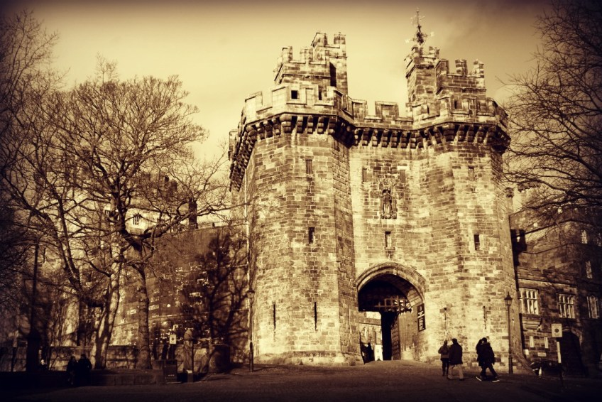 Lancaster Castle Witch Trials in the UK