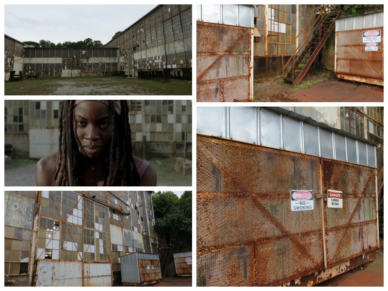 Walking Dead filming locations Michonne