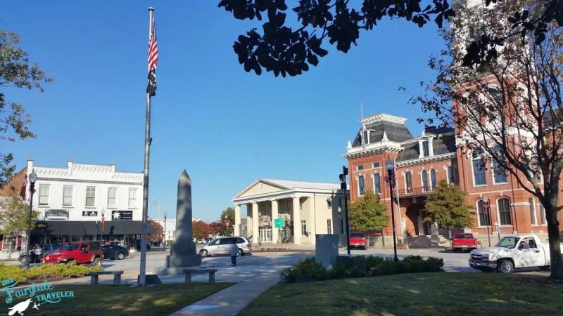 Mystic Falls Square in Covington