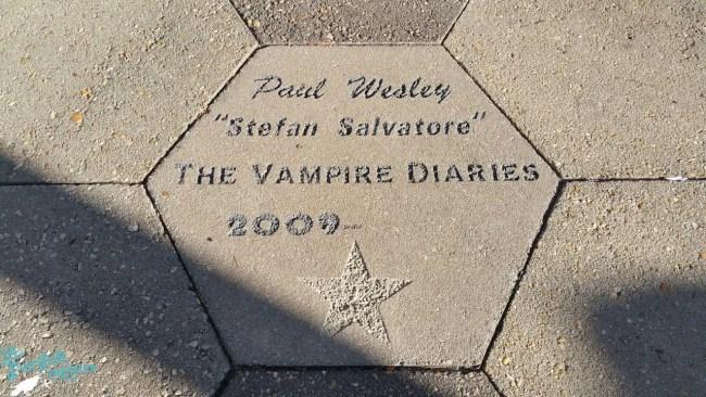 Paul Wesley Star in Mystic Falls Covington