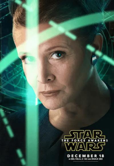 New Leia poster