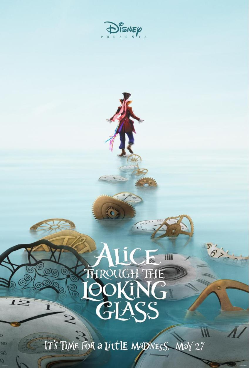 Alice Through the Looking Glass Poster of the Mad Hatter
