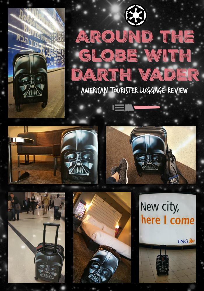 American Tourister Star Wars Luggage review p