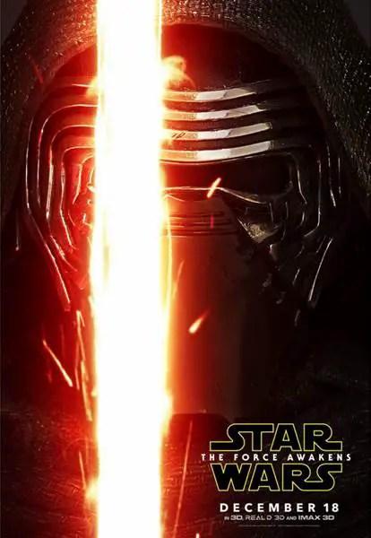 New Kylo Ren poster