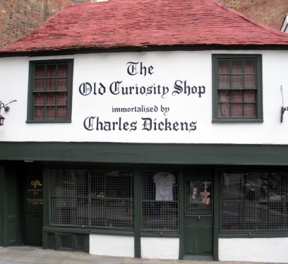 The Old Curiosity Shop, Charles Dickens, London
