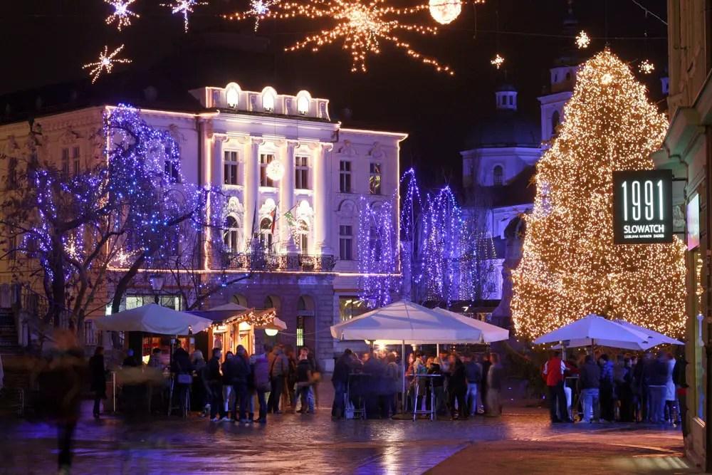 Ljubljana at Christmas