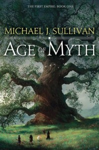 Age of Myth by Michael J.Sullivan, ci-Fi, Fantasy novel, book released in 2016, 2016 sci-fi and fantasy book releases