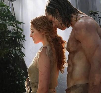 Alexander Skarsgard and Margot Robbie Legend of Tarzan