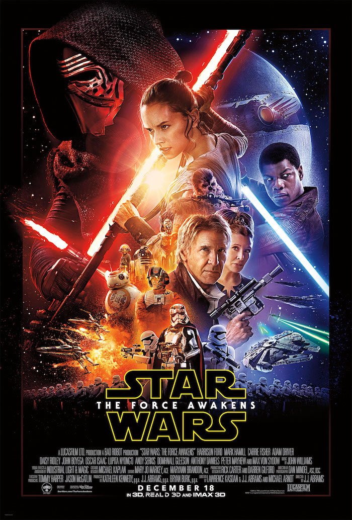 Star Wars, The Force Awakens, Poster, New Poster Movie Poster
